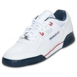 Best Design And Style Men's Reebok Workout Plus Casual Shoest White/Navy/Red CW71235