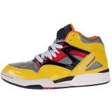 Particular Design And Style Reebok Pump Omni Lites Yellow / Silver / Black / Red / White / Orange AQ