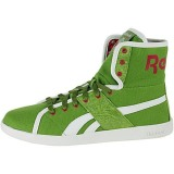 Popular Reebok Top Downa Defense Green / Candy Pink / White PD91388