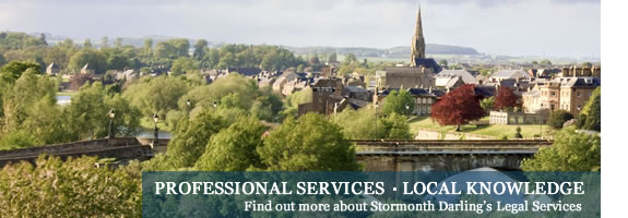 Find out more about Stormonth Darling's legal services